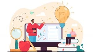 Shift to online education in india