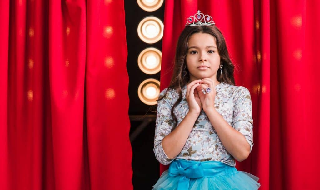 Lack of confidence and performance anxiety on stage can be frightening for the kids.