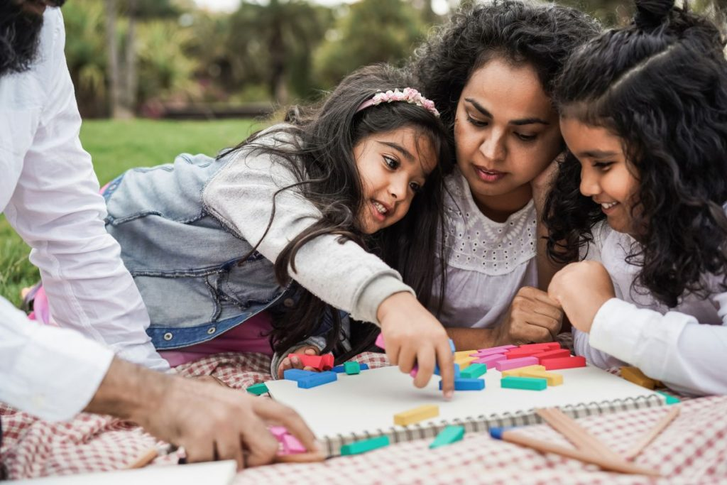 Games and fun activities helps develop essential skills and qualities in children.